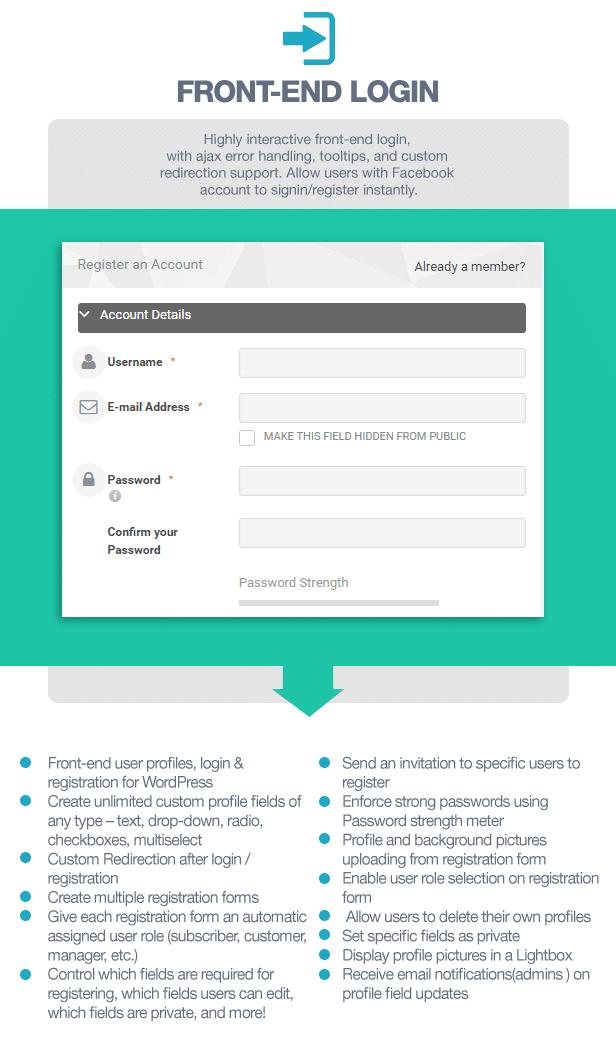 افزونه پروفایل کاربری UserPro