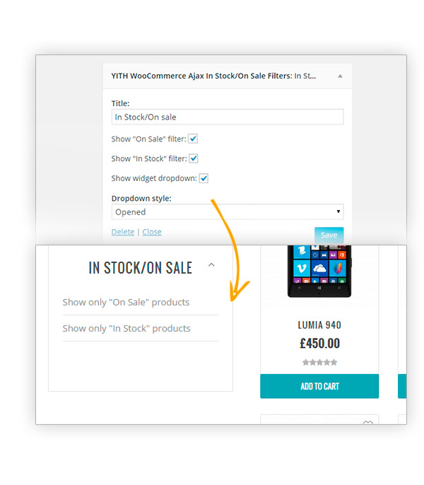 افزونه ووکامرس Yith Woocommerce Ajax Product Filter Premium