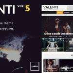Valenti v5.0.1 WordPress HD Review Magazine News Theme1