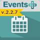 Events Calendar Registration Booking