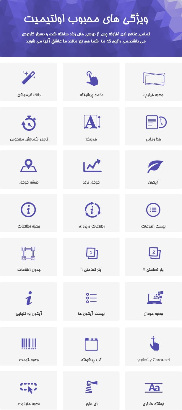 افزونه وردپرس Ultimate Addons for Visual Composer