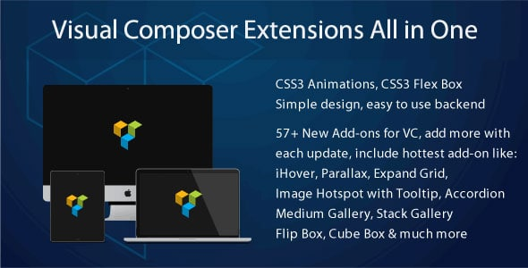 افزونه وردپرس Visual Composer Extensions Addon All in One
