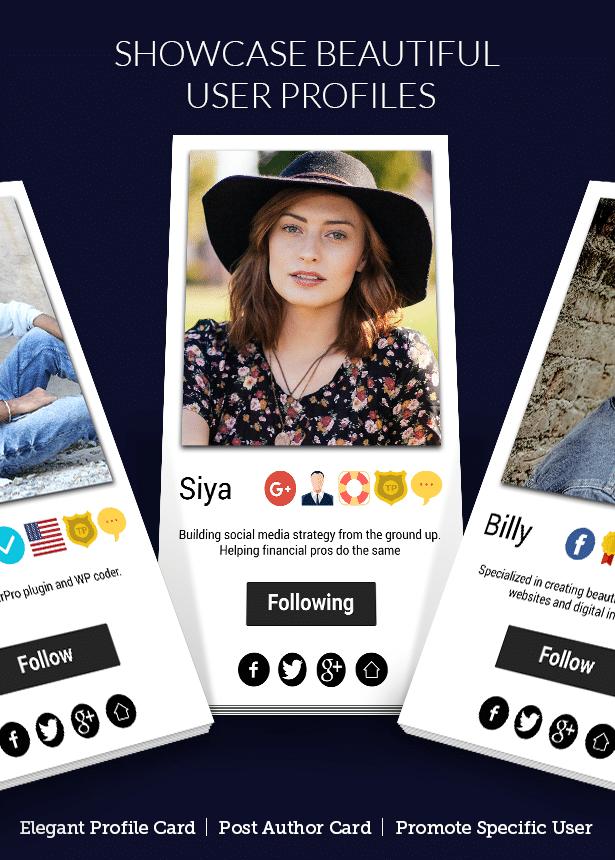 افزونه UserPro User Profiles with Social Login