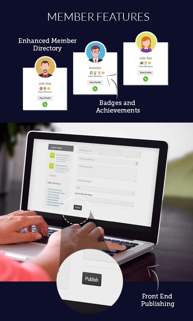 پلاگین UserPro User Profiles with Social Login