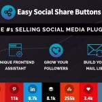 افزونه وردپرس Easy Social Share Buttons