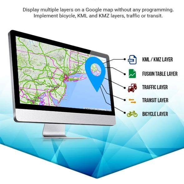 افزونه وردپرس Google Map