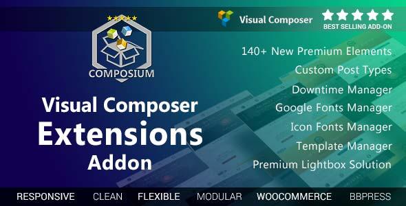 افزونه جانبی ویژوال کامپوسر Extensions Addon